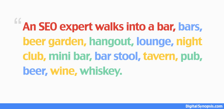 A SEO expert walks into a bar, bars, beer garden, hangout, lounge, night club, mini bar, bar stool, tavern, pub, beer, wine, whiskey